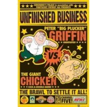 POSTERS FAMILY GUY chicken fight plakát 61 x 91 cm