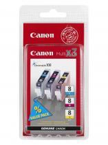 Canon CLI-8 C,M,Y Multi Pack