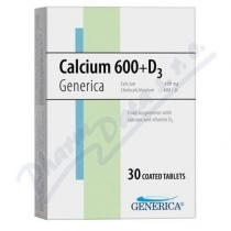 GENERICA Calcium 600+D3 tbl.30