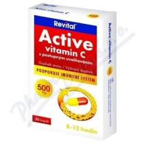 VITAR Revital Active vitamin C 500mg tbl.30