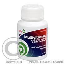 KLAS Multivitaminy s minerály, enzymy a beta karotenem 60 tbl.