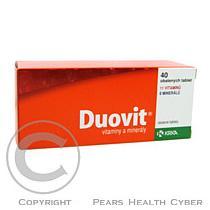 KRKA DUOVIT 40 Obalené tablety