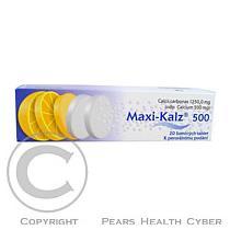 HERMES PHARMA MAXI-KALZ 500 20X500mg