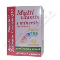 MEDPHARMA Multivitamín s minerály extra C tbl.67