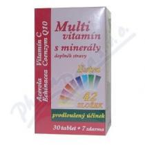MEDPHARMA Multivitamín s minerály extra C tbl.37
