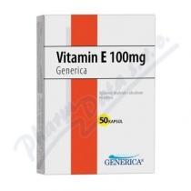 GENERICA Vitamin E 100mg cps.50