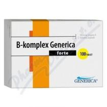 GENERICA B-komplex forte tbl.100