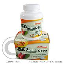 GREEN SWAN GS Vitamin C 500 se šípky tbl.100+20