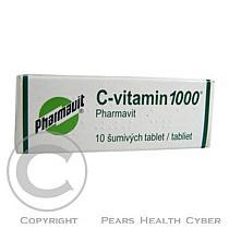 Bender C-VITAMIN 1000 PHARMAVIT 10X1000MG