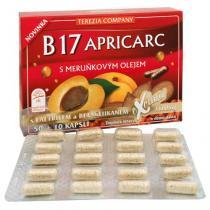Terezia B17 Apricarc s meruňkovým olejem 50 kapslí
