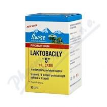 Swiss Herbal Remedies Laktobacily 5 (30 kapslí)