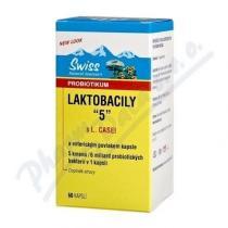 Swiss Herbal Remedies Laktobacily 5 (60 kapslí)