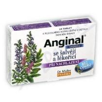 Dr. Müller Anginal - se šalvějí a lékořicí (16 tablet)