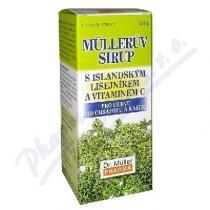 Dr. Müller Müllerův sirup - s isl. lišejníkem a vitamínem C (130g)