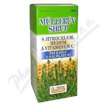 Dr. Müller Müllerův sirup - s jitrocelem, medem a vitamínem C (320g)