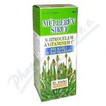 Dr. Müller Müllerův sirup - s jitrocelem a vitaminem C (130g)
