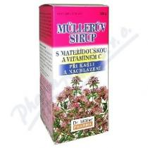 Dr. Müller Müllerův sirup - s mateřídouškou a vitaminem C (320g)
