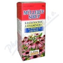 Dr. Müller Müllerův sirup - s echinaceou a vitamínem C (320g)