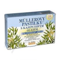 Dr. Müller Müllerovy pastilky - s kajeputovým olejem (24ks)