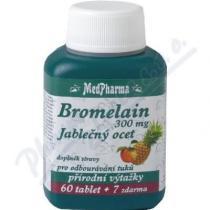 MEDPHARMA Bromelain+jablečný ocet+lecitin tbl.67