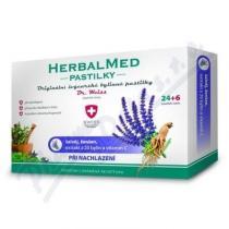 Simply You HerbalMed Dr. Weiss - šalvěj, ženšen, vitaním C (24+6 pastilek)