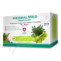 Simply You HerbalMed Dr. Weiss - islandský lišejník, tymián (24+6 pastilek)