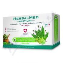 Simply You HerbalMed Dr. Weiss - jitrocel, mateřídouška, lípa (24+6 pastilek)