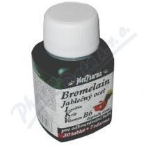 MEDPHARMA Bromelain+jablečný ocet+lecitin tbl.37