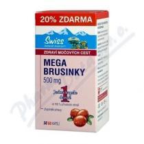 Swiss Mega Brusinky (50+10 kapslí)