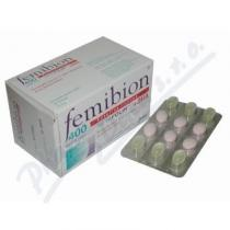 MERCK Femibion 400 Kys.list.Metafolin+DHA tob.30+tbl.30