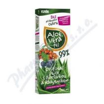 Virde Aloe-vera gel - s borůvkou a rakytníkem (500ml)