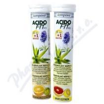 KOMPAVA AcidoFit MD pomaranč-limetka tbl.eff.15+1