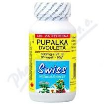SWISS HERBAL REMEDIES PUPALKA dvouletá 500mg+vit.E cps.90