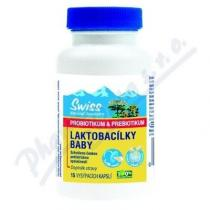 SWISS HERBAL REMEDIES LAKTOBACÍLKY BABY cps.15
