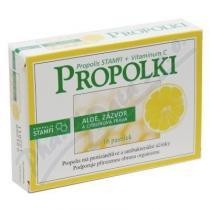Nepentes Propolki - aloe, zázvor a citrónová tráva (16 tablet)