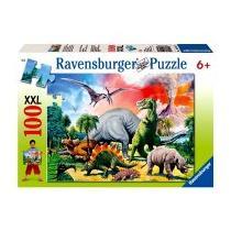 Ravensburger Puzzle Mezi dinosaury 100 XXL