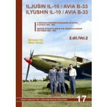 Iljušin Il-10 / Avia B-33 v Čs. vojenském letectvu v letech 1950-1963
