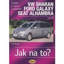 VW Sharan, Ford Galaxy, Seat Alhambra - Jak na to? Etzold Hans-Rudiger