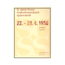 II. sjezd Svazu československých spisovatelů 22.–29. 4. 1956