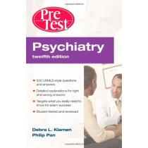 Psychiatry Pre, Test Self-Assessment & Review, Twelfth Edition - Debra Klamen, Phil Pan
