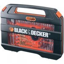 Black & Decker  A7154 100dílná sada vrtáků a šroubovacích nástavců