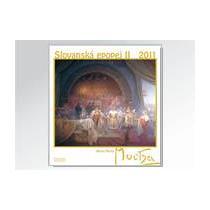 Nástěnný kalendář Alfons Mucha