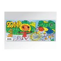 Stolní kalendář Děti malují pro Konto BARIÉRY 2011