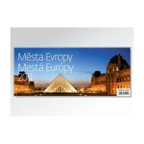 Stolní kalendář Města Evropy / Mestá Európy 2011