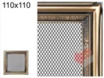 Amstal - Krbová mřížka 11x11cm rustikální
