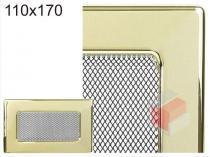 Amstal - Krbová mřížka 11x17cm pozlacená