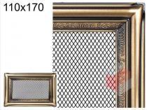 Amstal - Krbová mřížka 11x17cm rustikální