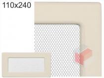 Amstal - Krbová mřížka 11x24cm krémová