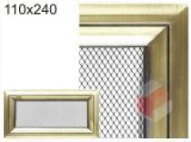 Amstal - Krbová mřížka 11x24cm Oskar zlato