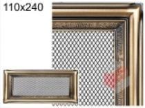 Amstal - Krbová mřížka 11x24cm rustikální